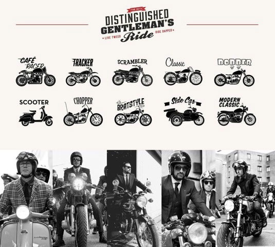 The Distinguished Gentlemans Ride 2015