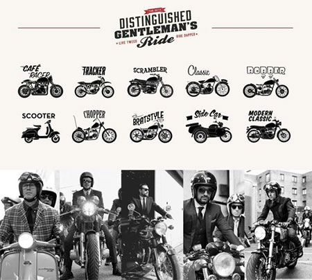 The Distinguished Gentlemans Ride 2015.