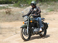 мотоцикл Royal Enfield Battle Green